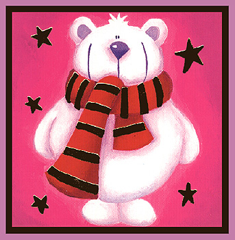 Αρκουδάκι χριστουγέννων